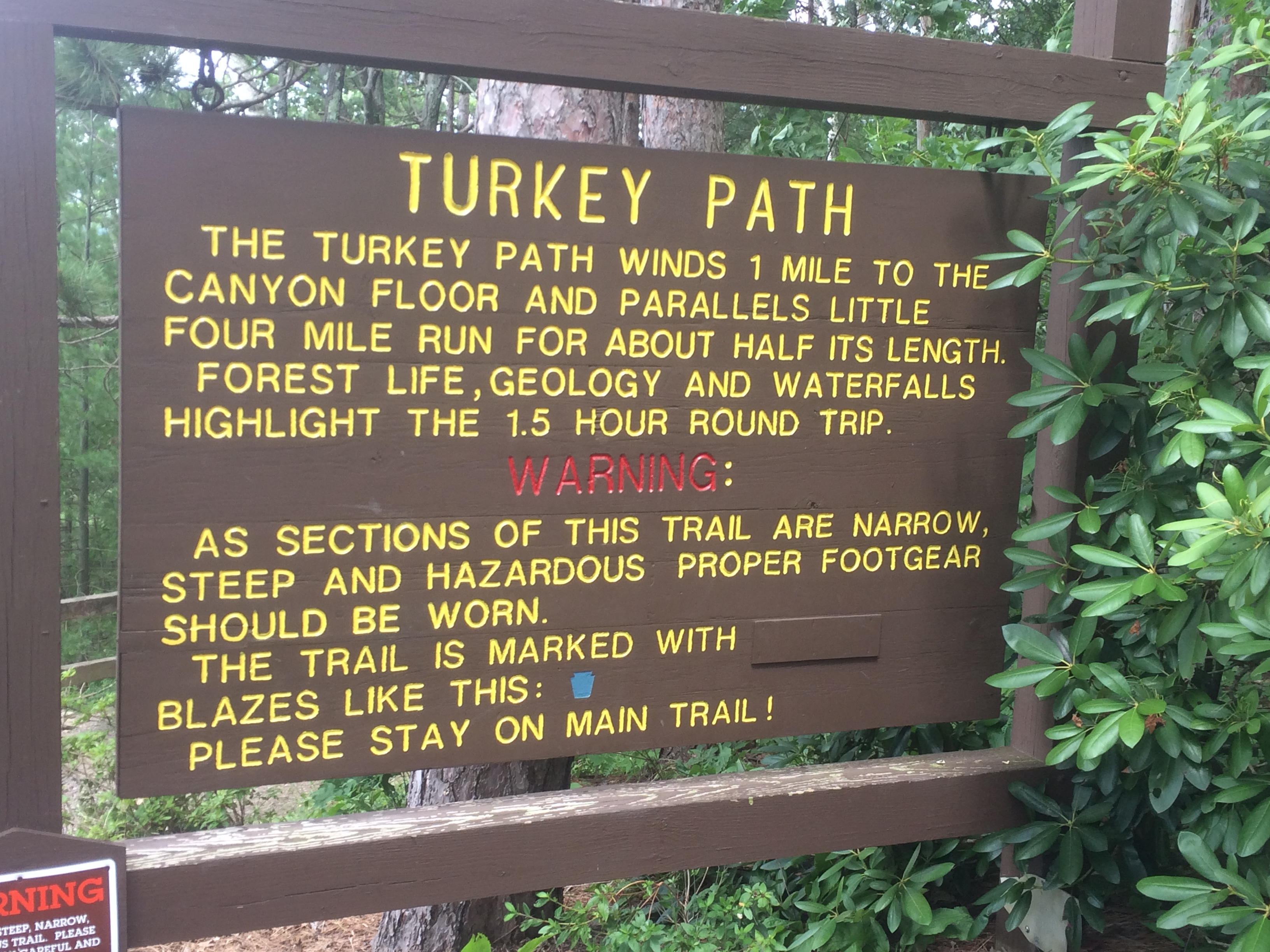 The Turkey Path Hike The Pennsylvania Grand Canyon